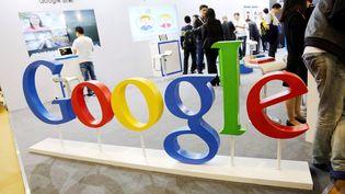 Une exposition Google à Shanghaï, en Chine, le 23 avril 2015. (IMAGINECHINA / AFP)