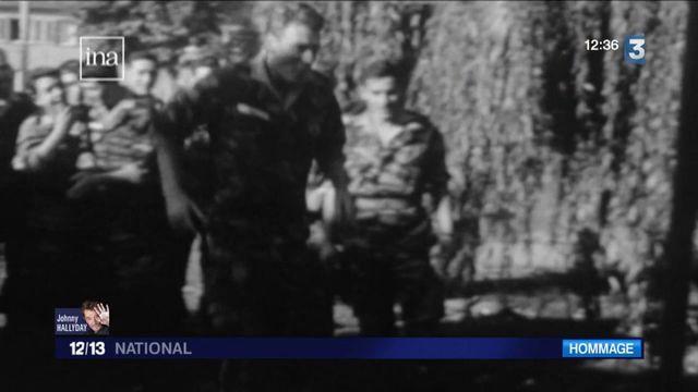 Johnny Hallyday : une star à l'armée