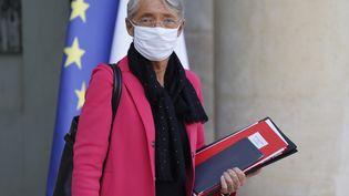 Elisabeth Borne, la ministre du Travail, le 14 octobre 2020. (LUDOVIC MARIN / AFP)