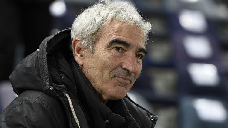 Raymond Domenech va retrouver un banc en Ligue 1 (FRANCK FIFE / AFP)