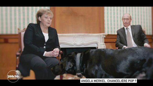 VIDEO. Le jour où le labrador de Vladimir Poutine a effrayé la chancelière Angela Merkel qui a la phobie des chiens