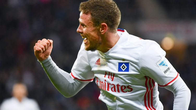 Nicolai Müller a permis à Hambourg de prendre un point face à Hoffenheim (UWE ANSPACH / DPA)