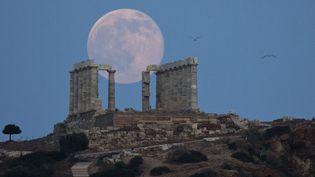Les archéologues grecs refusent de louer le temple de Poséidon de Soumion pour un tournage de la BBC  (Petros Giannakouris / AP / SIPA)