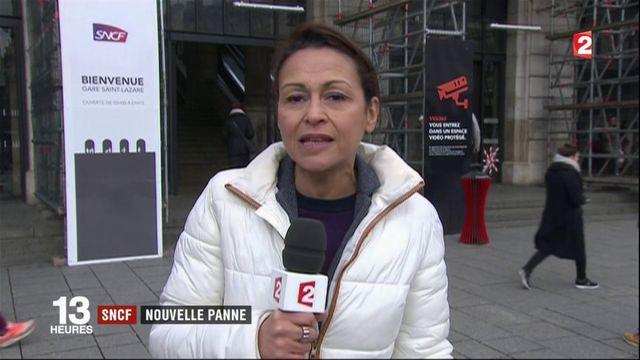 SNCF : une nouvelle panne immobilise les trains à la gare Saint-Lazare