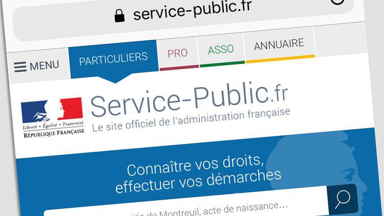 Le site service-public.fr (DR)