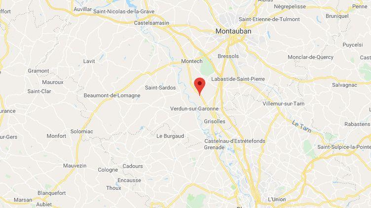 Bessens, Tarn et Garonne. (GOOGLE MAPS)
