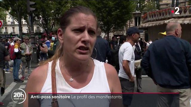 Manifestations anti-pass sanitaire : quels sont les profils des opposants ?