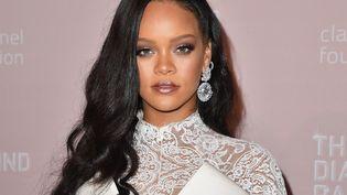 La chanteuse Rihanna, le 13 septembre 2018 à New-York. (ANGELA WEISS / AFP)
