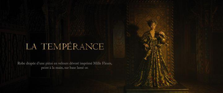 Dior haute couture printemps-été 2021, à Paris, le 25 janvier 2021 (Matteo Garrone pour Dior)