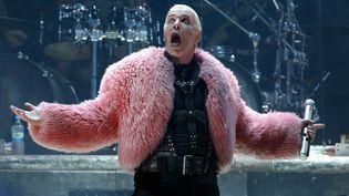 Till Lindemann, leader du groupe allemand Rammstein, en concert au WackenOpen Air en 2013. (AXEL HEIMKEN / DPA)