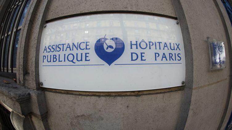 Assistancepublique -Hôpitaux de Paris, le 14 novembre 2020. (ARNAUD JOURNOIS / MAXPPP)