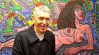 Robert Combas et sa muse, Geneviève  (France3/Culturebox)