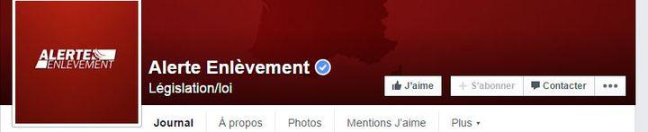 (Page officielle pour les Alertes enlèvements © Capture d'écran Facebook)