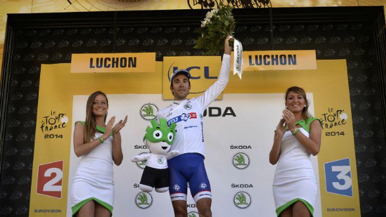 Thibaut Pinot continuera de franchir les Pyrénées avec le maillot blanc sur les épaules