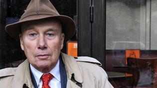 L'écrivain Grabriel Matzneff, en janvier 2009 à Paris. (MARC CHARUEL / AFP)