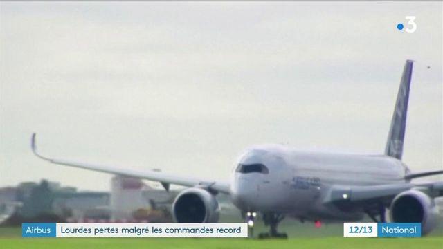 Airbus : lourdes pertes malgré les commandes record