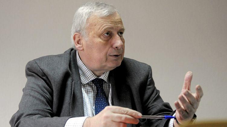 Le candidat socialiste à la mairie de Béziers (Hérault), Jean-Michel du Plaa, le 22 janvier 2014. (  MAXPPP)