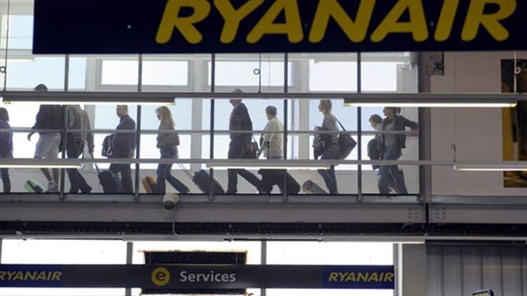 Plateforme de Ryanair à Marignage (Bouches-du-Rhône), le 28 septembre 2010. (AFP)