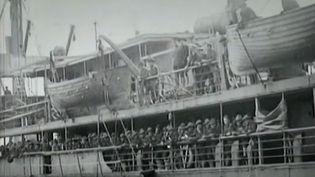 Le 26 juin 1917, les troupes américaines débarquaient en France dans le cadre de la Première Guerre mondiale. (France 3)