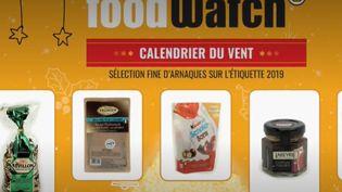 Selon l'association Foodwatch, certaines grandes surfaces profitent des fêtes de Noël pour faire grimper les prix. (France 2)