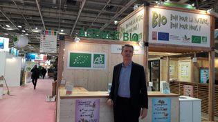 Florent Guhl président de l'agence Bio, en février 2018, au Salon de l'agriculture. (SANDRINE ETOA-ANDEGUE / RADIO FRANCE)