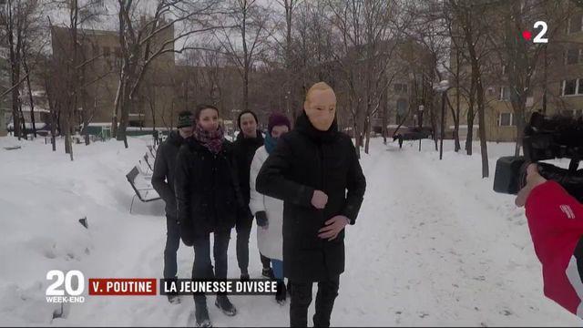 Vladimir Poutine : la jeunesse divisée