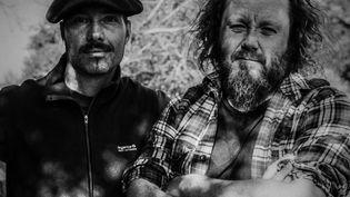"""Matthieu Jourdain et Laurent Lacrouts, les deux """"rockfarmers"""" de The Inspector Cluzo. (LAURENT ETXEMENDI)"""