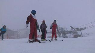 La neige est arrivée dans les Pyrénées (CAPTURE D'ÉCRAN FRANCE 3)