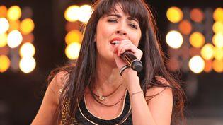 La chanteuse Nolwenn Leroy donne un concert à la fête de l'Humanité, le 18 septembre 2011à La Courneuve (Seine-Saint-Denis). (CITIZENSIDE.COM / AFP PHOTO)