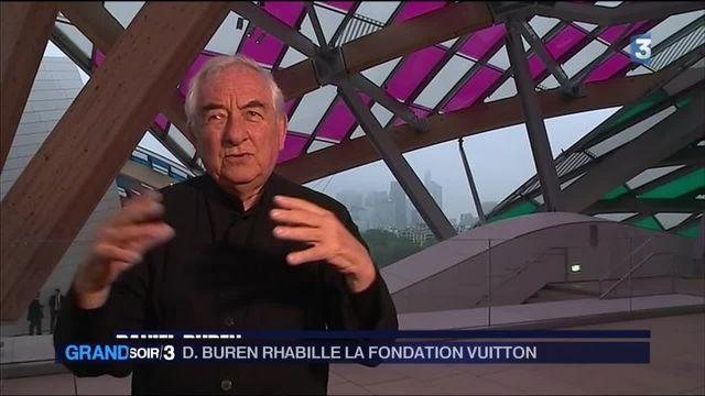 Buren relooke la Fondation Vuitton
