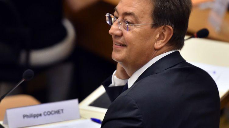 Philippe Cochet, président de la fédération Les Républicains du Rhône et de la métropole de Lyon, le 10 juillet 2017. (PHILIPPE JUSTE / MAXPPP)