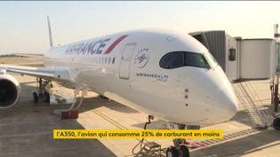 Un A350 d'Air France (FRANCEINFO)