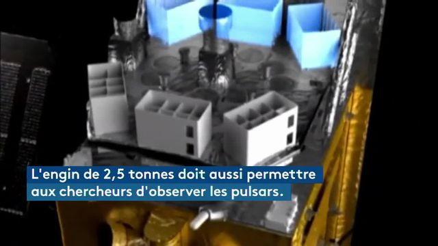 VIDEO. La Chine lance son  premier télescope spatial à rayons X
