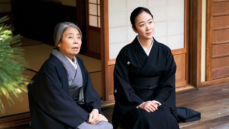 "Kiki Kirin et Haru Kuroki dans""Dans un jardin qu'on dirait éternel"" deTatsushi Ōmori. (Copyright Art House)"