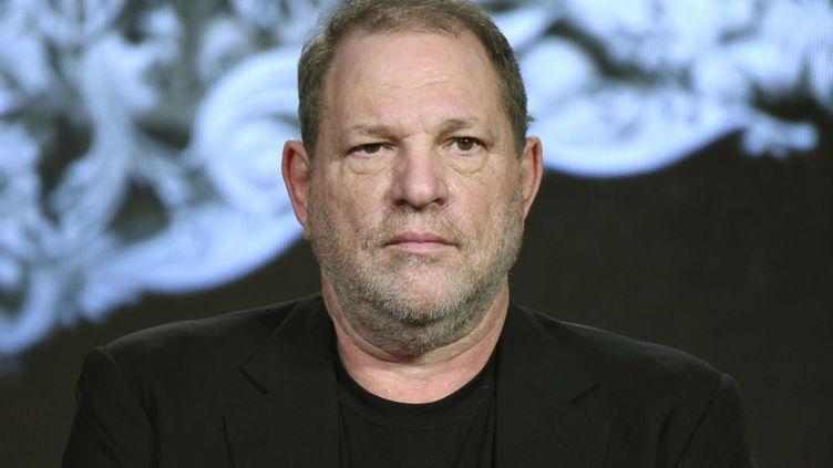 Le producteur américain Harvey Weinstein à Pasadena, en Californie (Etats-Unis), le 7 janvier 2017. (RICHARD SHOTWELL/AP/SIPA / AP)