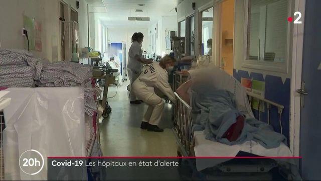 Covid-19 : certains hôpitaux sont au bord de la saturation, comme à Dunkerque