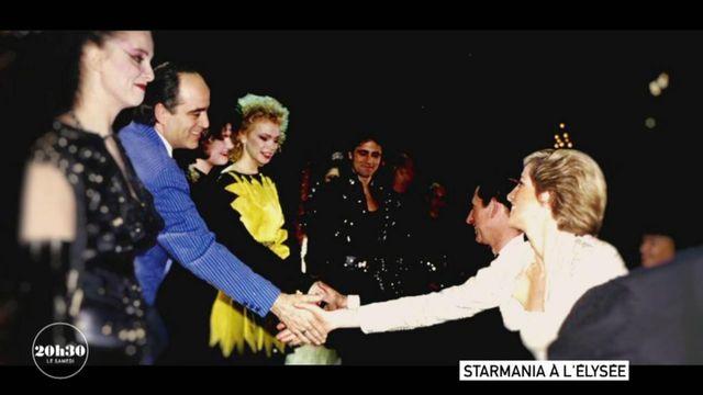 """VIDEO. Quand l'opéra-rock """"Starmania"""", joué à l'Elysée en 1988, n'a même pas réussi à sortir Lady Diana de sa mélancolie"""