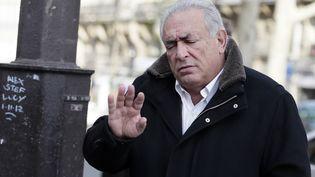 Dominique Strauss-Kahn, le 11 décembre 2012 à Paris. (KENZO TRIBOUILLARD / AFP)