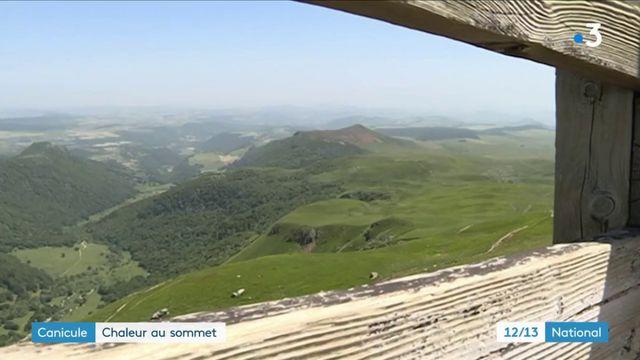 Puy-de-Dôme : la montagne aussi fait face à la canicule