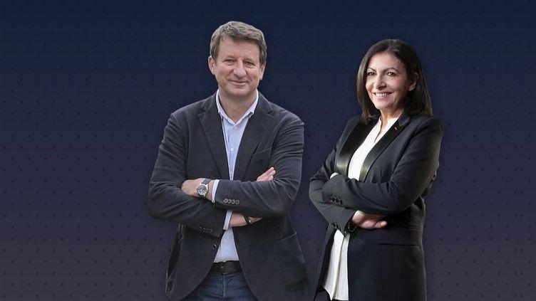Présidentielles 2022 : à gauche, le duel entre Yannick Jadot et Anne Hidalgo (FRANCE 2)