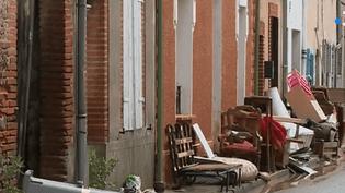 Le village deGaillac-Toulza en Haute-Garonne n'a toujours pas été classé en zone de catastrophe naturelle, et les habitants attendent d'être indemnisés depuis trois mois. (FRANCEINFO)
