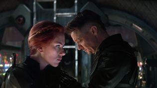 """Scarlett Johansson et Jeremy Renner dans """"Avengers Endgame"""" 2019, d'Anthony Russo et Joe Russo (MARVEL STUDIOS / AFP)"""