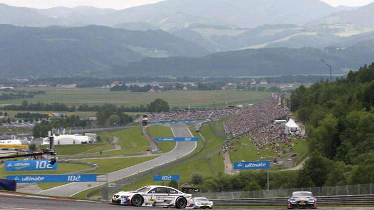 Le Red Bull Ring lors d'une épreuve de DTM
