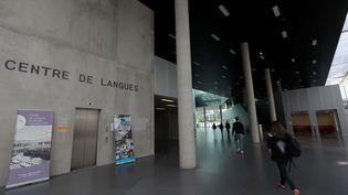 Le campus de CentraleSupélec, à Saclay en Essonne, le 8 octobre 2021. (PHILIPPE LAVIEILLE / MAXPPP)