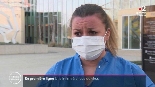 Coronavirus : les infirmières et infirmiers en première ligne
