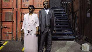 Amadou et Mariam à Marseille, aux Docks des Sud, en octobre 2011  (Anne-Christine Poujoulat / AFP)