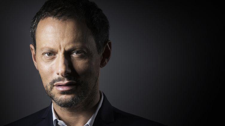 Marc-Olivier Fogiel à Paris, le 16 septembre 2016. (JOEL SAGET / AFP)