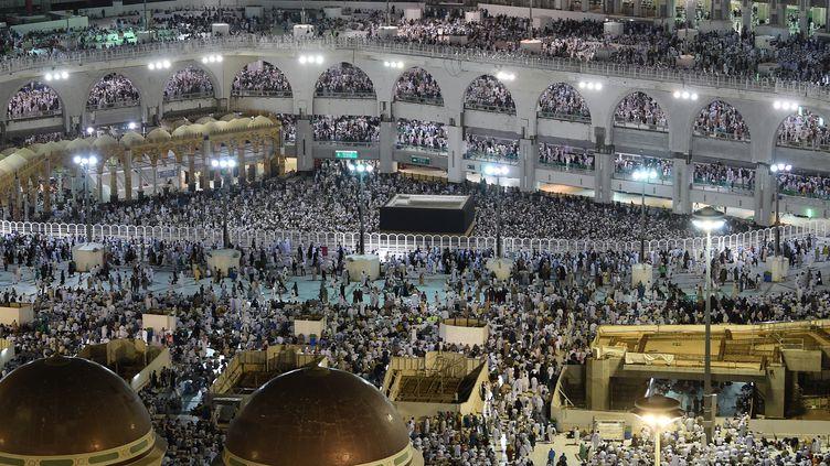 Plus de 2 millions de musulmans ont entamé, vendredi 9 août, le pèlerinage annuel à La Mecque, en Arabie saoudite. (FETHI BELAID / AFP)