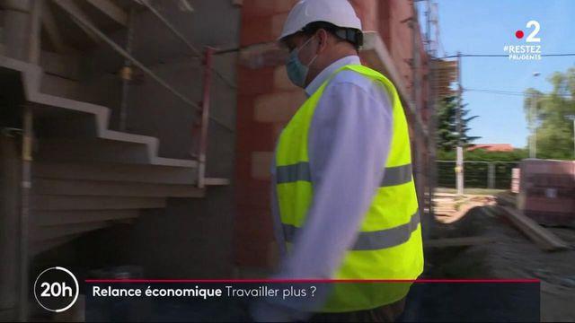 Relance économique : faudra-t-il travailler plus ?