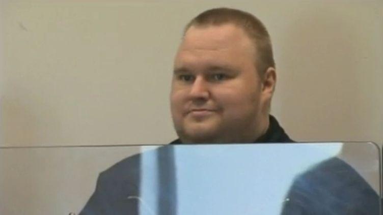 Kim Dotcom, le fondateur de Megaupload, a été arrêté le 20 janvier 2012 en Nouvelle-Zélande. (APTN)
